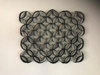 Homemade Toilet Paper Roll Wall Art - DIY Crafts