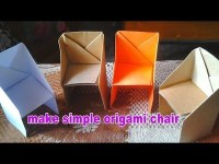 Origami, How to make a paper piano using origami paper ...