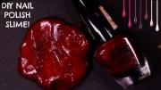 diy nail polish slime glue