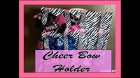 How to make a cheer bow holder for your room!