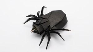 Origami, How to make an origami Facebook Like Sign (Tadashi Mori), Origami flapping bird 1, English
