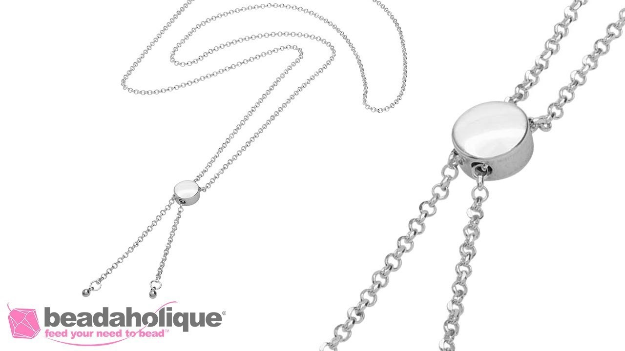 How to Make Your Own Adjustable Slider Necklace or