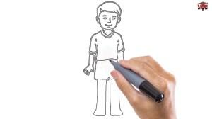 boy draw easy step drawing simple drawings tutorials boys sketch paintingvalley installer