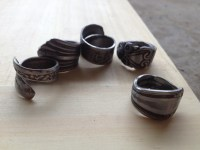 Ring, How To Make: Spoon Ring, CRYSTALMIN RING, Making A ...