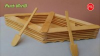 How to Make a Boat with Popsicle Sticks - Handmade - DIY ...