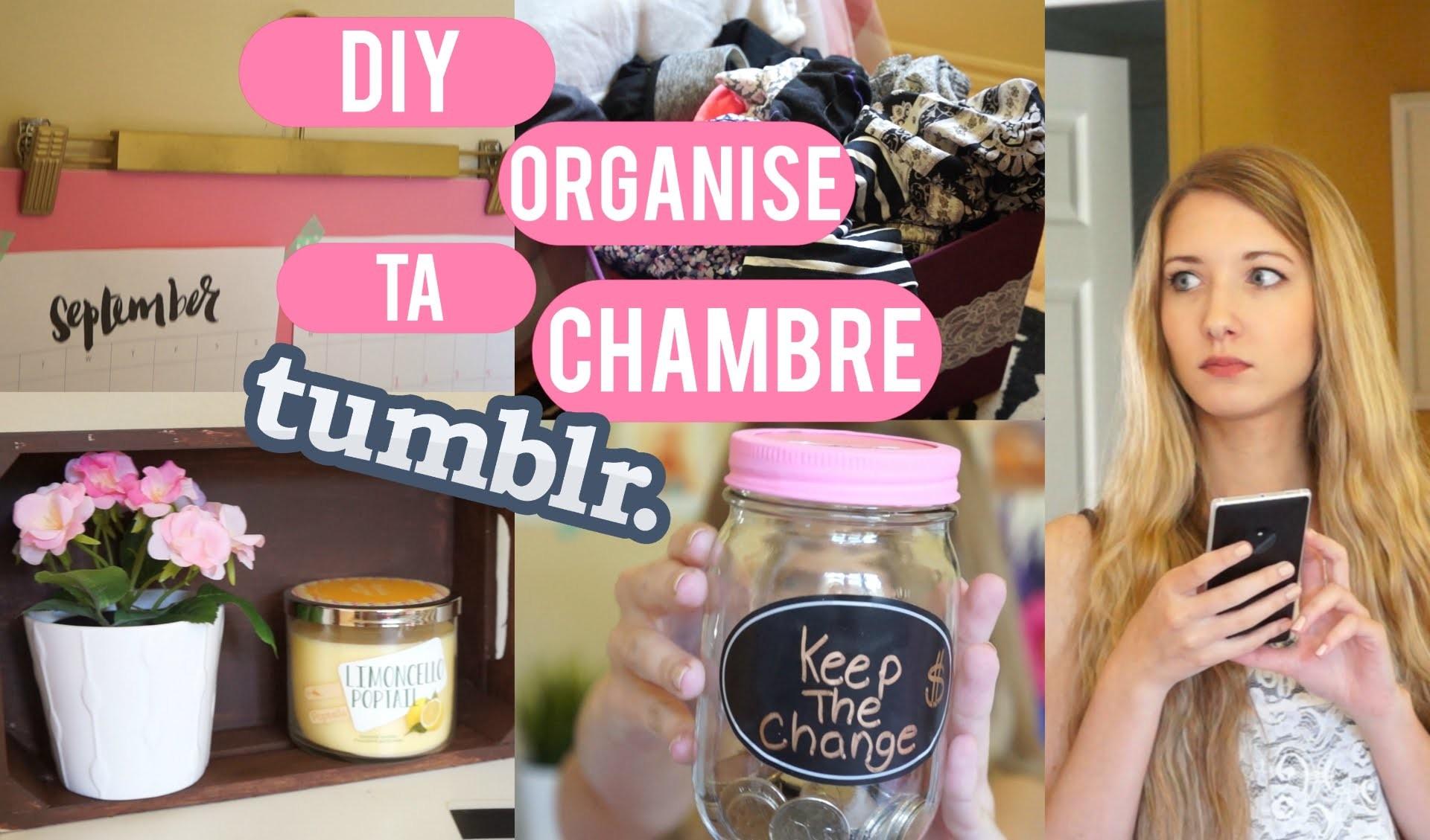 Diy, Organise Ta Chambre Inspiration Tumblr !, My Crafts