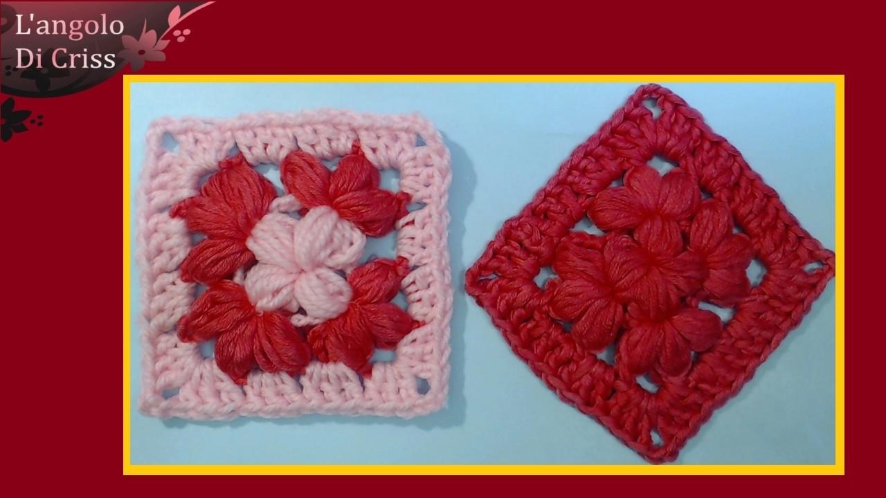 Facile Tutorial uncinetto fiore stilizzato facilissimo FIORI di SPAGO Tutorial DIY Crafting by