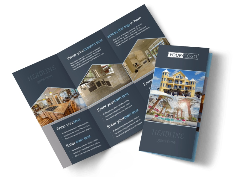 Condominium Complex Brochure Template MyCreativeShop