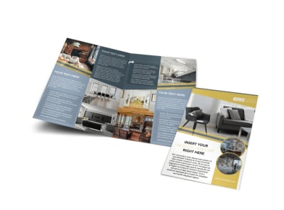 Furniture & Interior Design Brochure Template MyCreativeShop