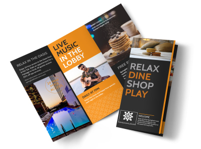 Design Custom Hotel Brochures Online MyCreativeShop
