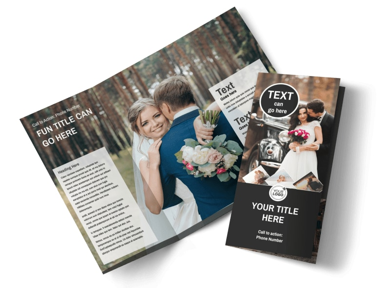 Wedding Photography Package Brochure Template MyCreativeShop
