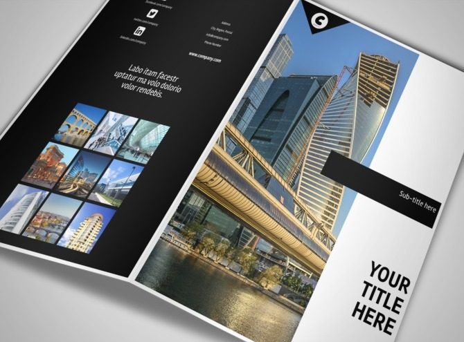 Architect & Architectural Design Services Brochure