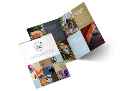 Art Gallery Brochure Template MyCreativeShop