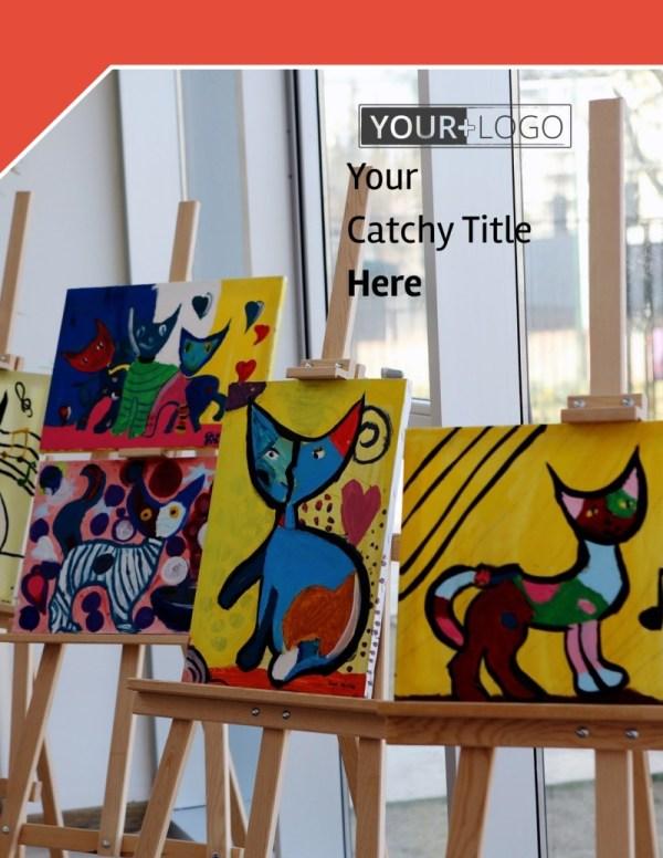 City Art Exhibition Flyer Template Mycreativeshop