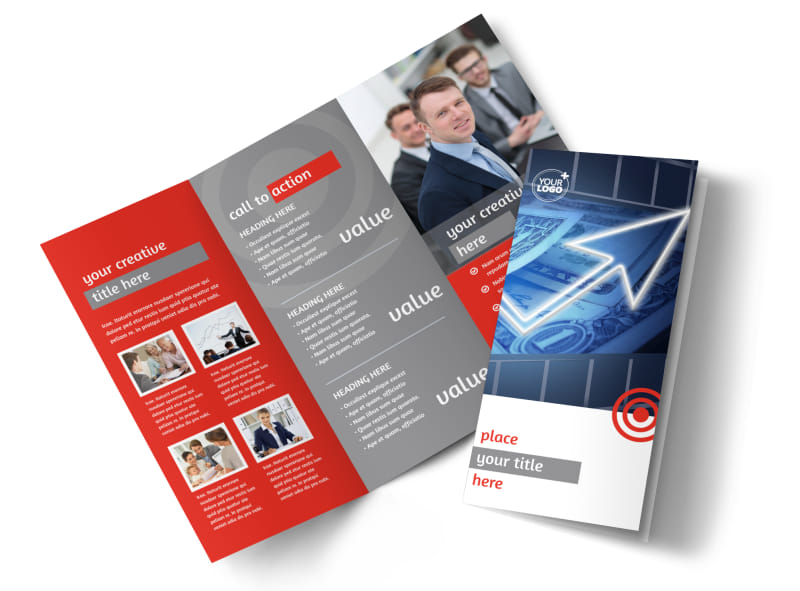 Financial Advisor Brochure Template MyCreativeShop