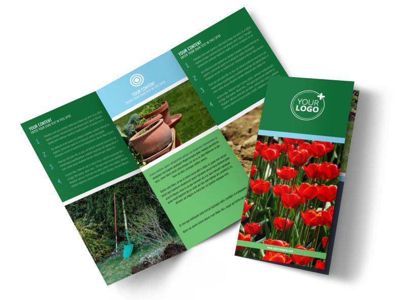 Farm & Garden Supplies Brochure Template MyCreativeShop