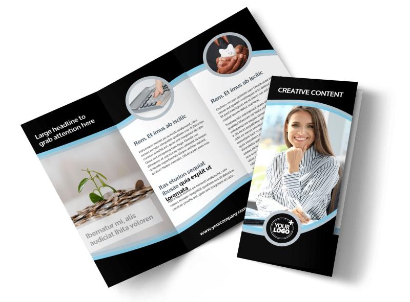 Tax Consultants Brochure Template MyCreativeShop