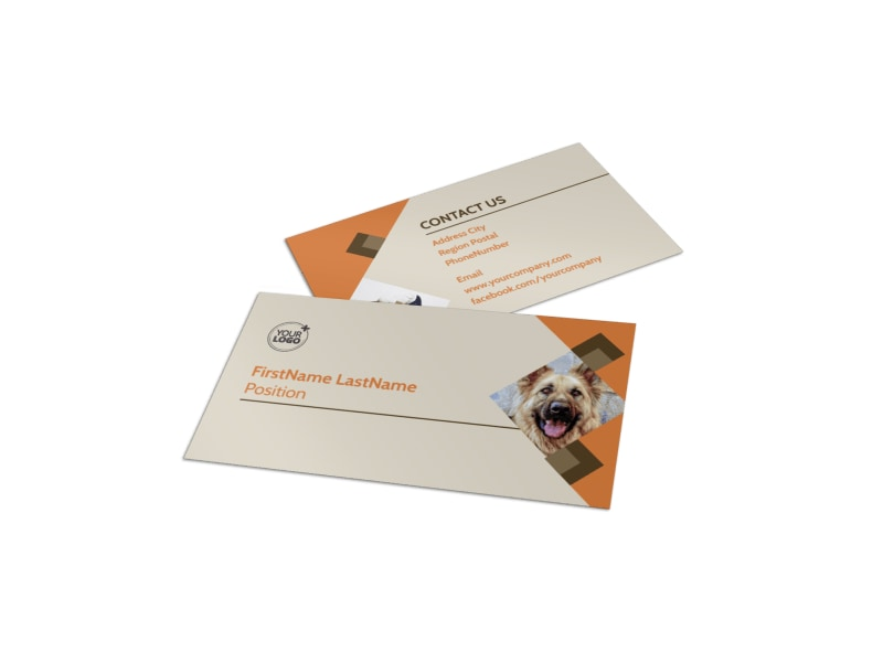 Animal Business Cards Gallery Business Card Template