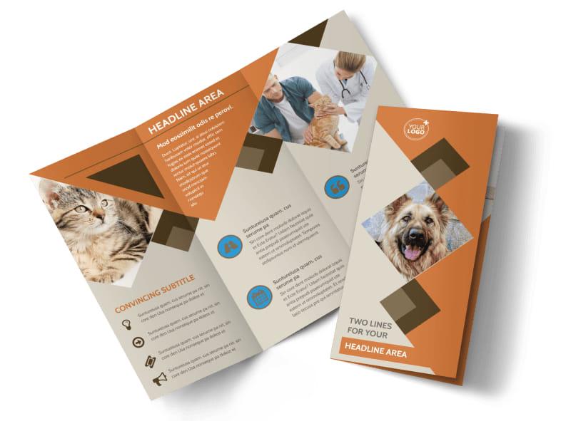 Animal Charity Brochure Template MyCreativeShop