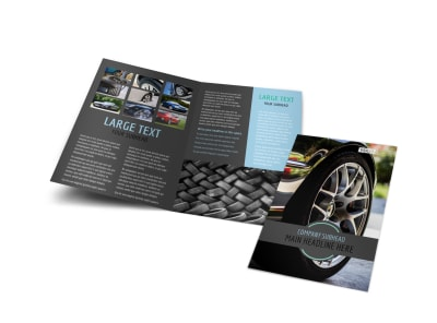 Walk with your customer throughout the show room and shop with the ability to update the work order, look up your customers, lookup inventory at your. Tire Store Brochure Template Mycreativeshop