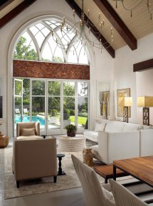 Pool House Interior Design