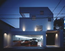 Modern House Design with Garage