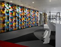Colorful And Welcoming Sherwin-Williams Office in Malaysia