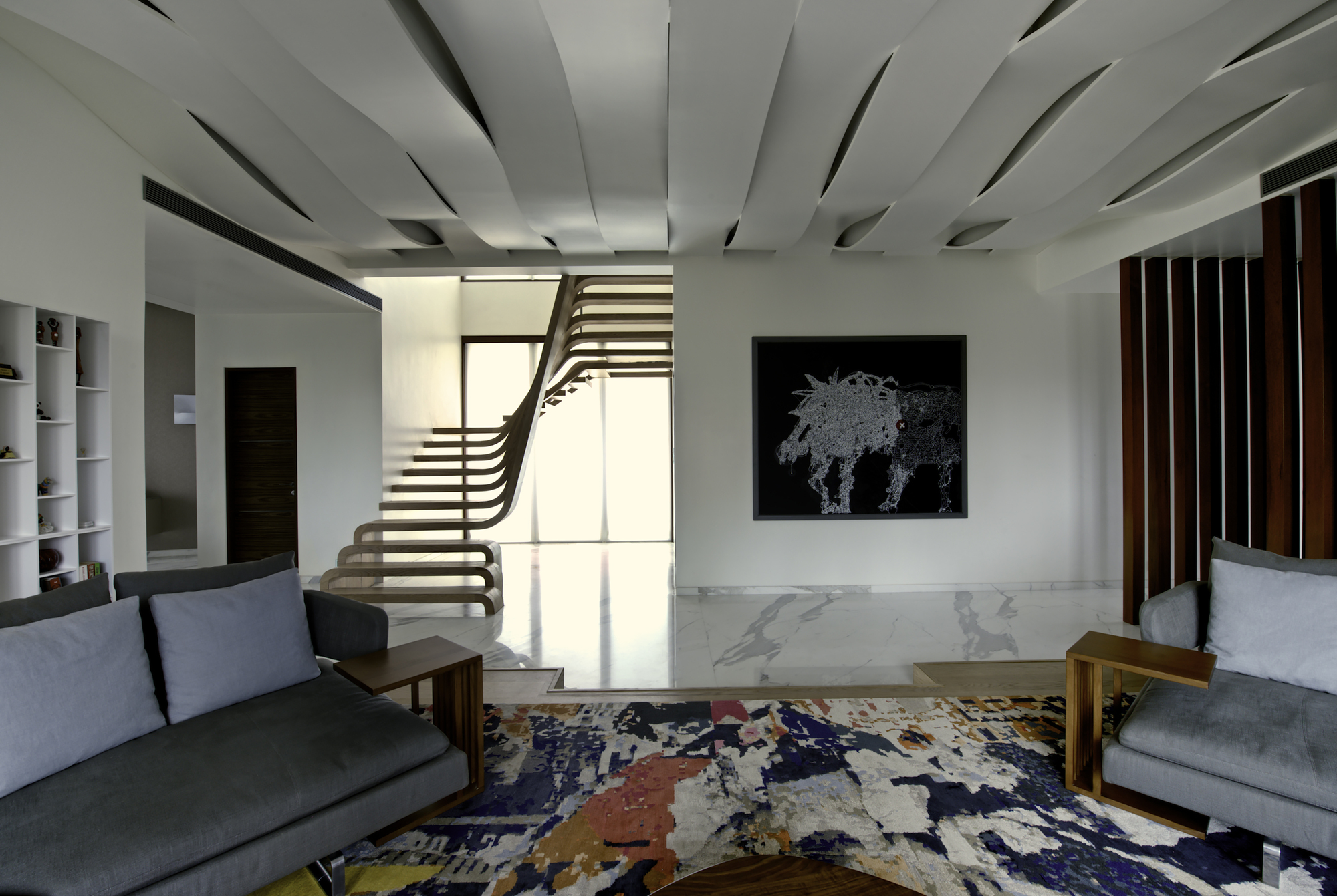 Contemporary SDM Apartment In Mumbai Maharashtra India