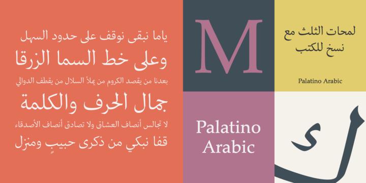 Palatino® Arabic