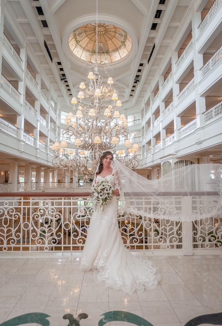 Fairytale Lake Buena Vista Wedding At Disneys Grand