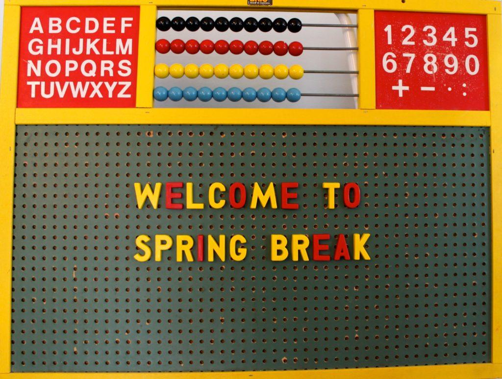 Spring Break Worksheets
