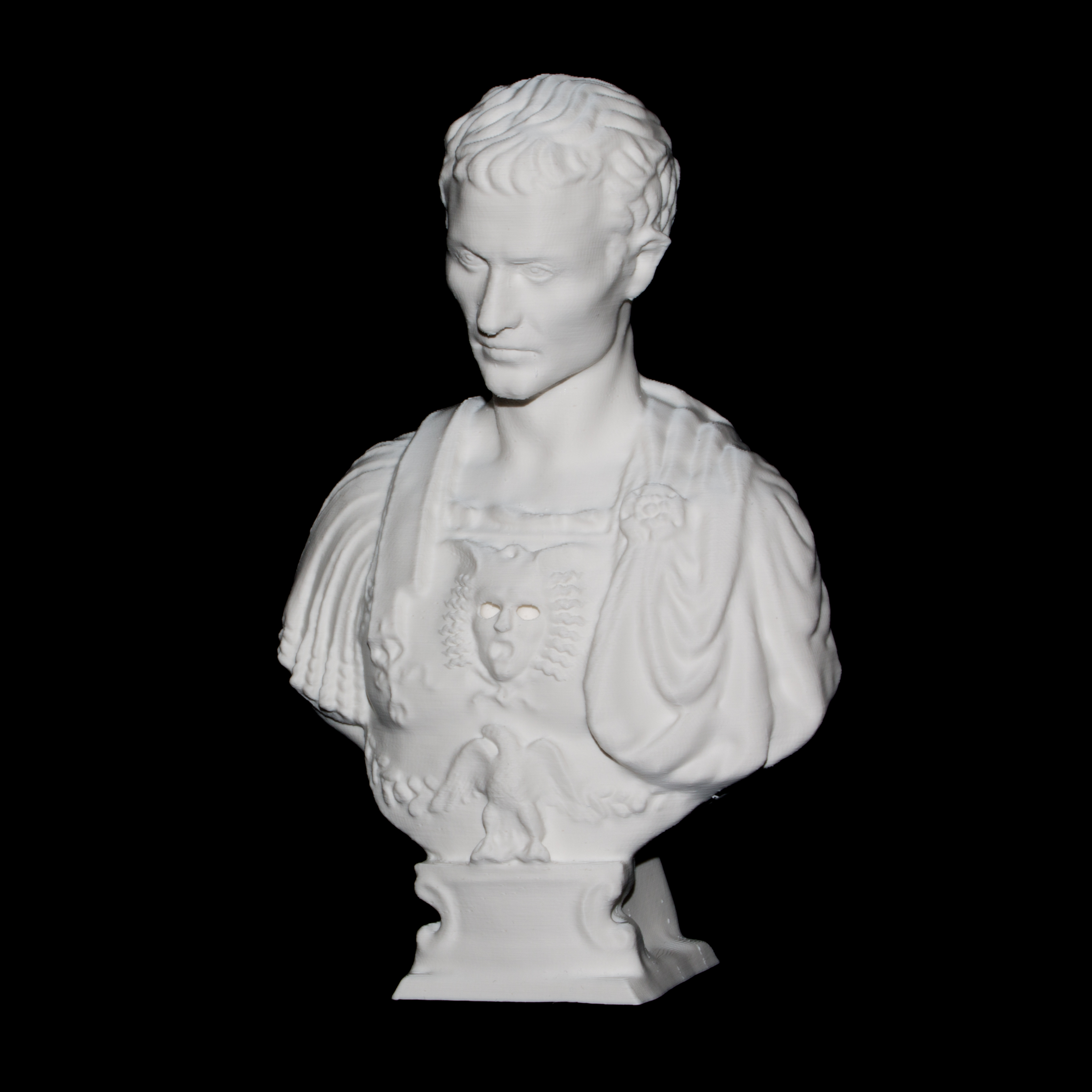 3d Printable Julius Caesar At The Metropolitan Museum Of