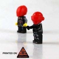 3D Printable Daft Punk Lego/ Thomas Bangalter