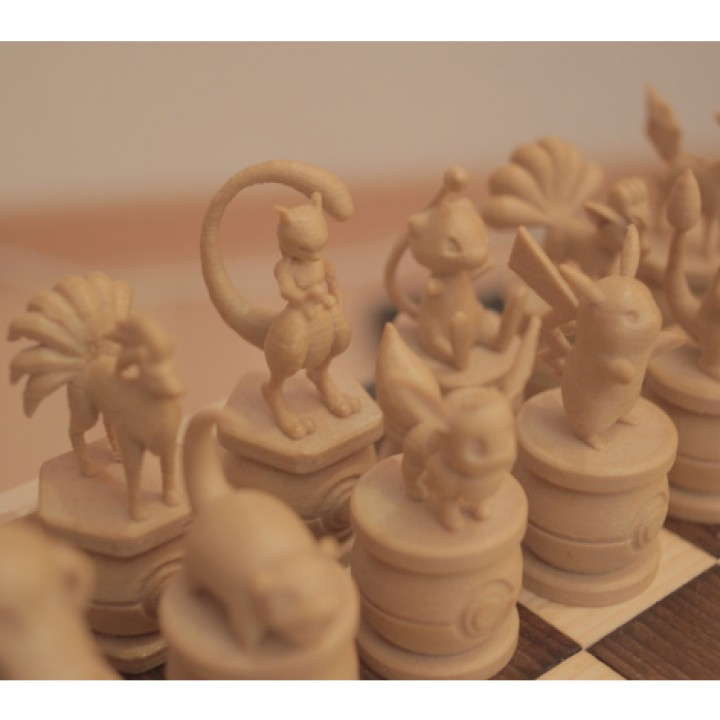 3d printable pokemon chess