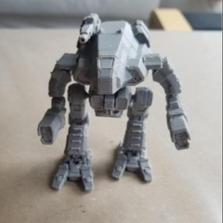 3d printable battletech marauder