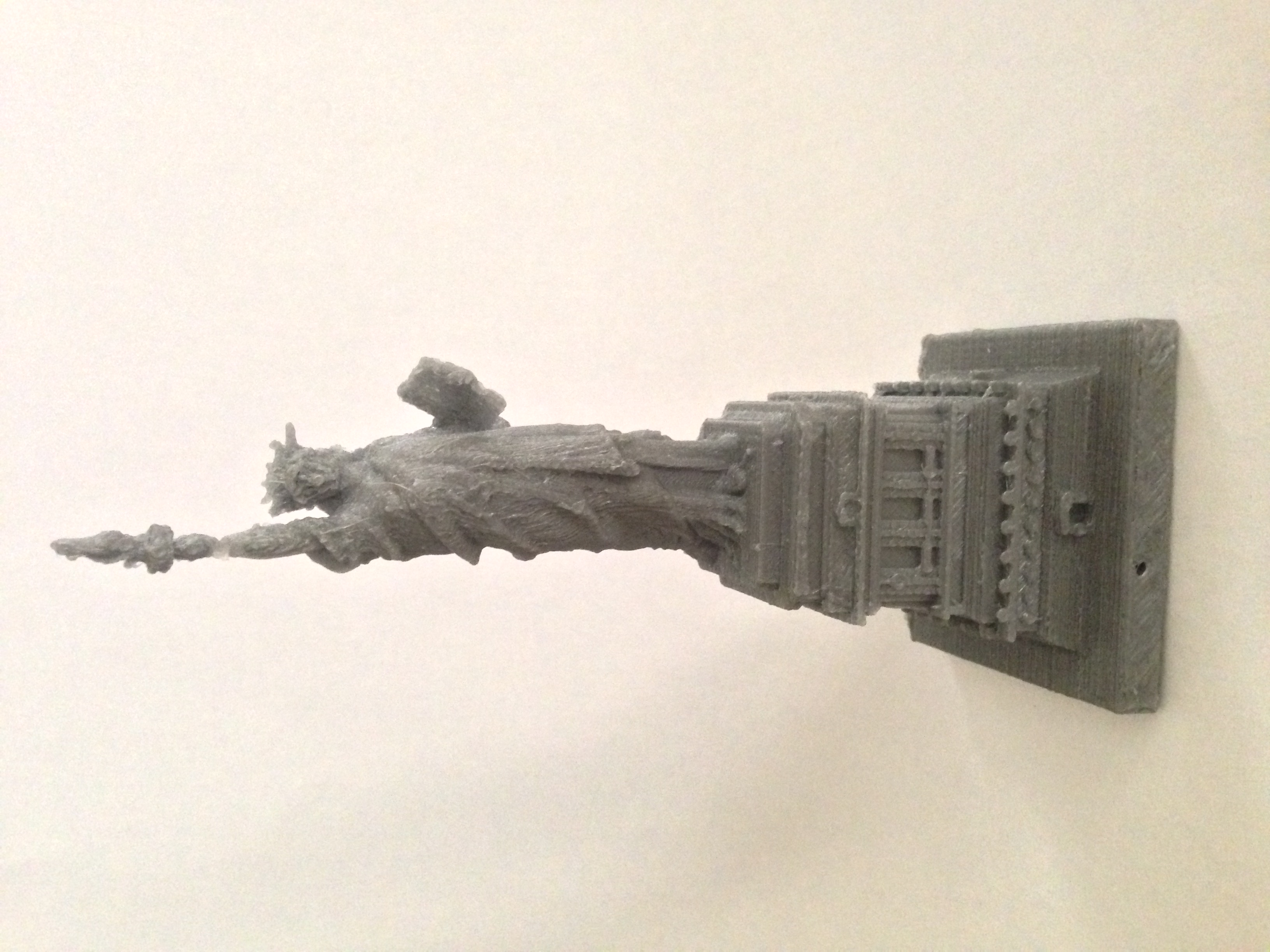 3d Printable Statue Of Liberty In Manhattan New York By