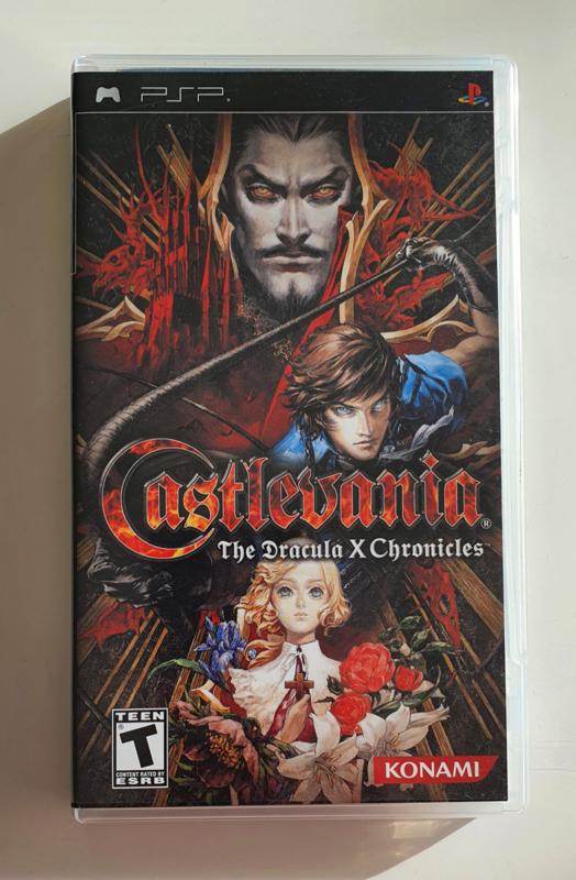 Psp Castlevania The Dracula X Chronicles Cib Games Retrogameland Be