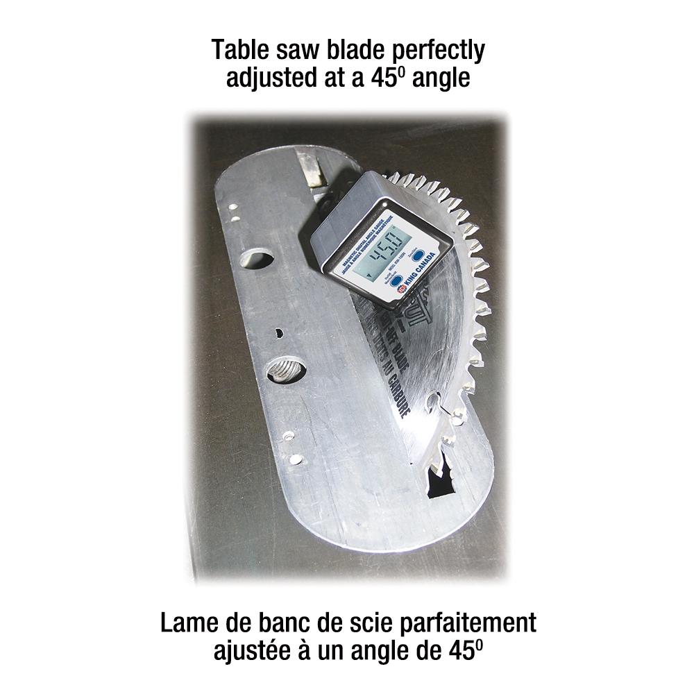 Digital Angle Gauge For Table Saw
