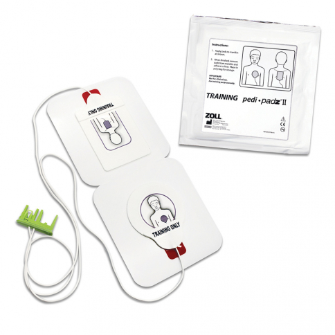 Zoll® Pediatric Training Electrodes for AED Plus® Trainer