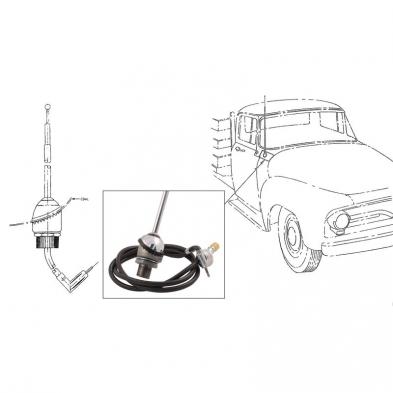 1953-55 PICKUP ANTENNA 1949-51 Shop Ford Restoration Parts