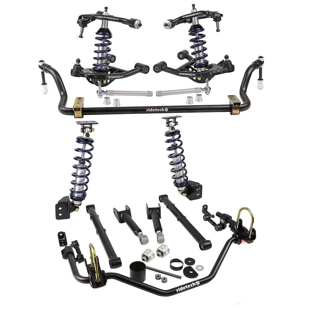 1978-88 GM G Body Front & Rear CoilOver System w/ HQ Shocks