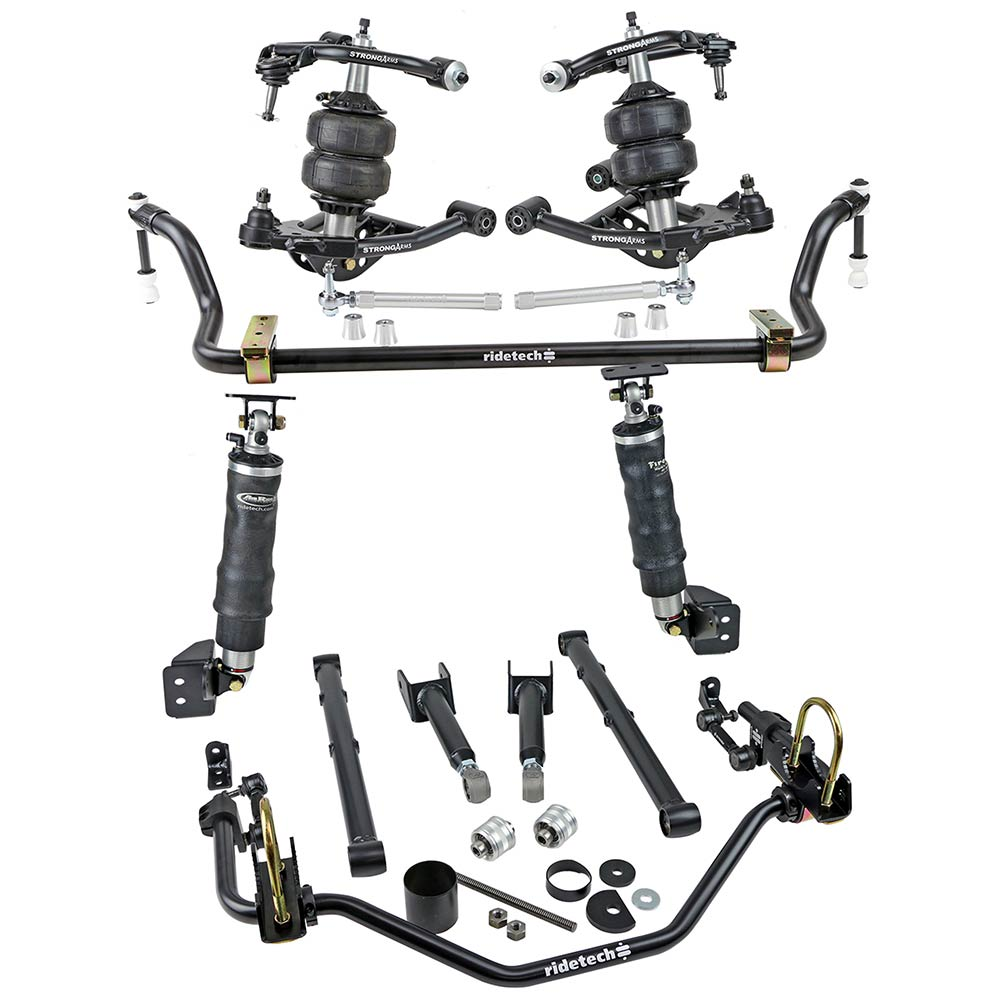 1978-88 GM G Body Air Suspension System with ShockWaves