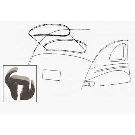 1941-48 Ford Coupe & Sedan Rear Window Seal w/o Groove