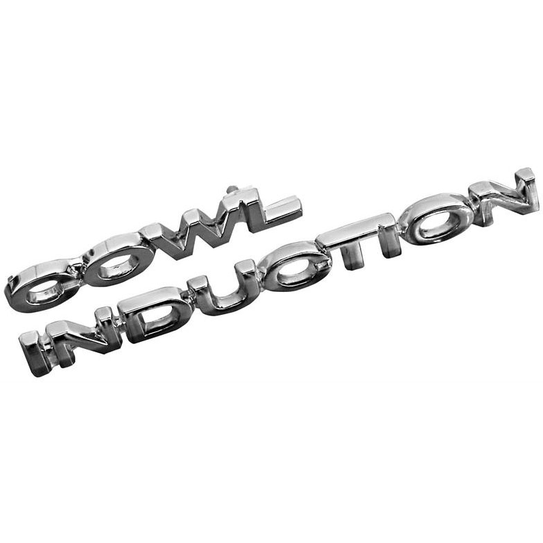 1967-69 Camaro & 70-72 Chevelle Cowl Induction Emblems