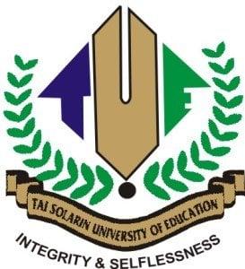 Tai Solarin University of Education (TASUED) Part-Time Degree Admission Screening