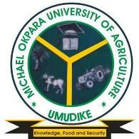 2018/2019 Admission List for Michael Okpara University Of Agriculture