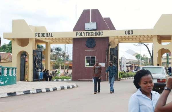 Federal Poly Oko School Fees