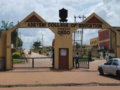 adeyemi college of education nce post utme form