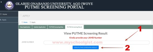 oou post utme result