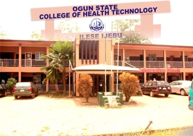Ogun State College Of Health Technology (OSCOHTECH) Admission Form